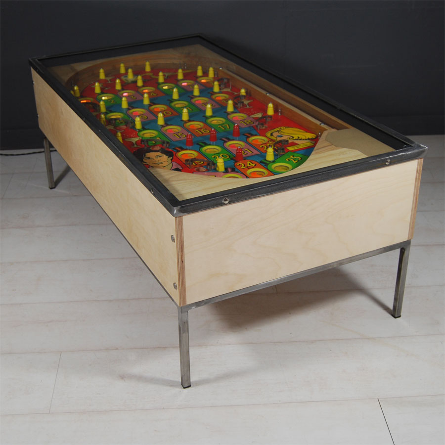 Tilt Originals -Blue Chip pinball coffee table