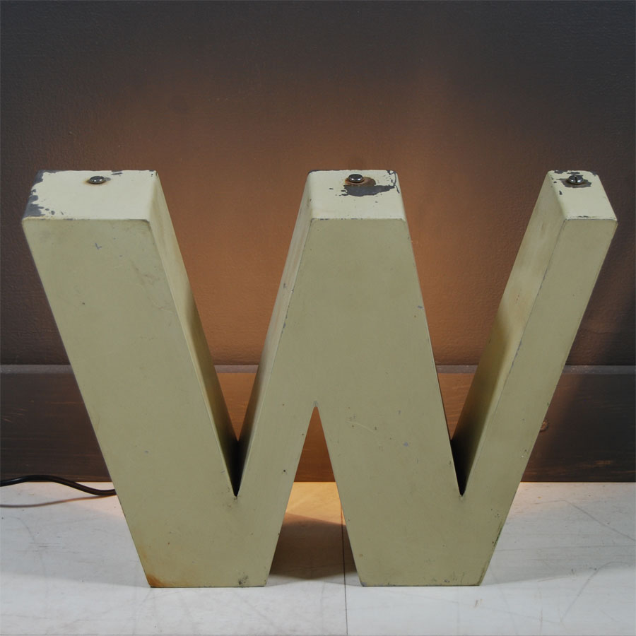 4-Tilt-Originals-Cream-Backlit-W-Letter-Lighting