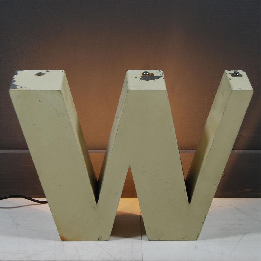 4-Tilt-Originals-Cream-Backlit-W-Letter-Lighting