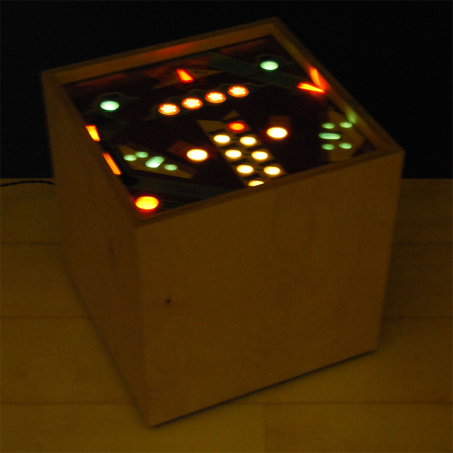 Tilt Originals - Pinball cube side table
