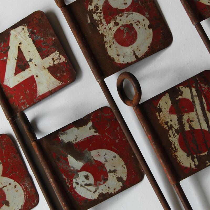 Tilt Originals - Vintage Pitch & Put numbers
