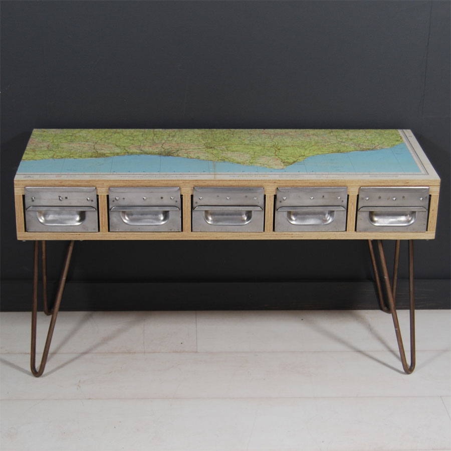 Tilt Originals - Sussex coast side table