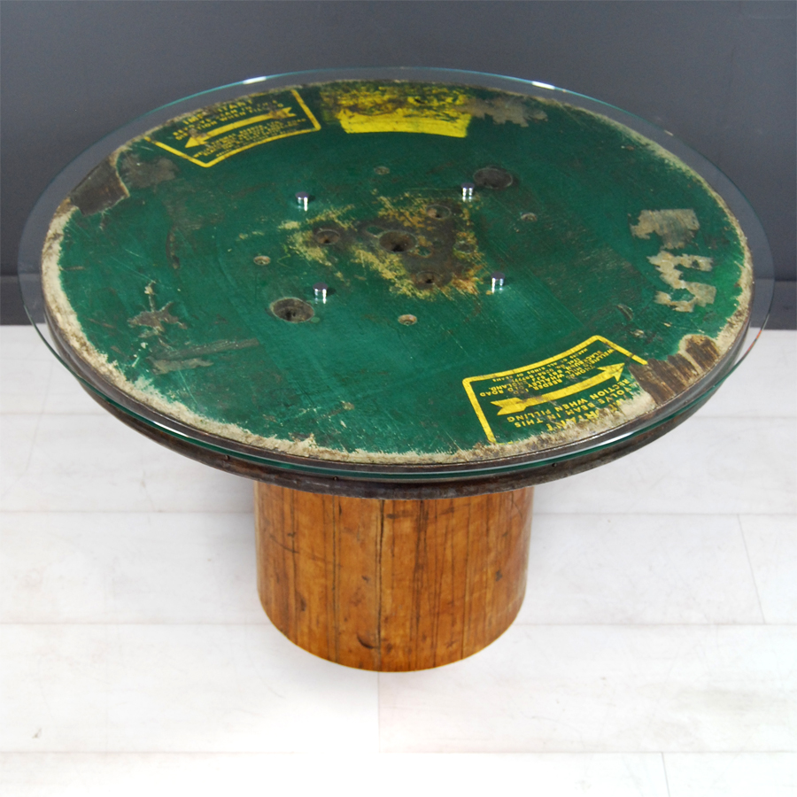 Tilt Originals - Vintage industrial bobbin table