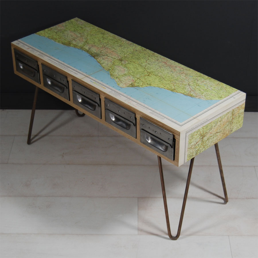 Tilt Originals - Sussex coast side table