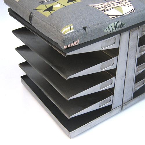 Tilt Originals - Filing tray stool