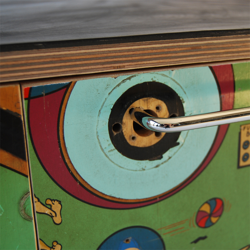 Tilt Originals - Pinball storage-seat-table