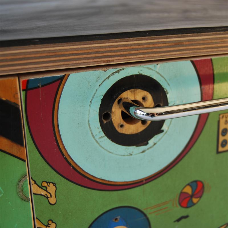 Tilt Originals - Pinball storage-seat-table