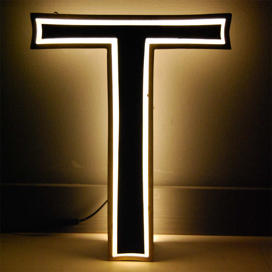 Tilt Originals - Vintage inline display letter lights