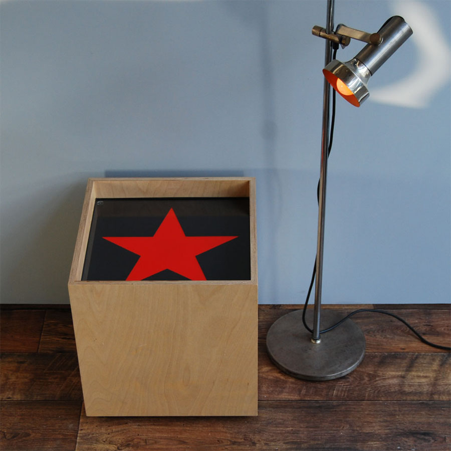 Tilt Originals - Star light cube sidetable