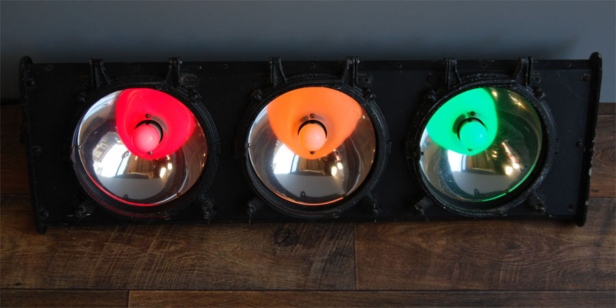 Tilt Originals - Vintage traffic lights