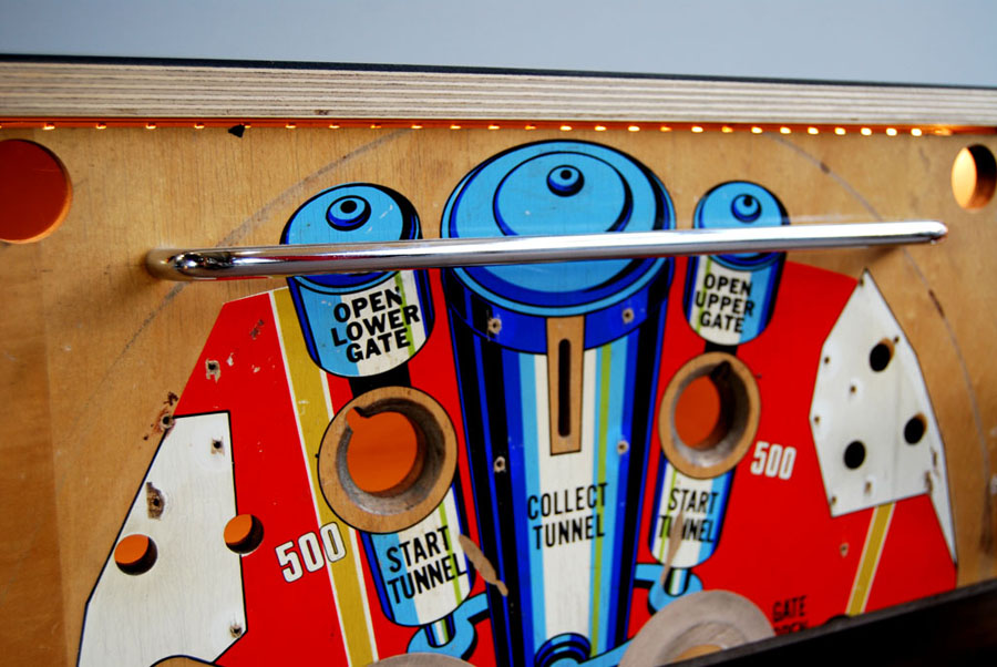 Tilt Originals - 1970s Space Time pinball sideboard