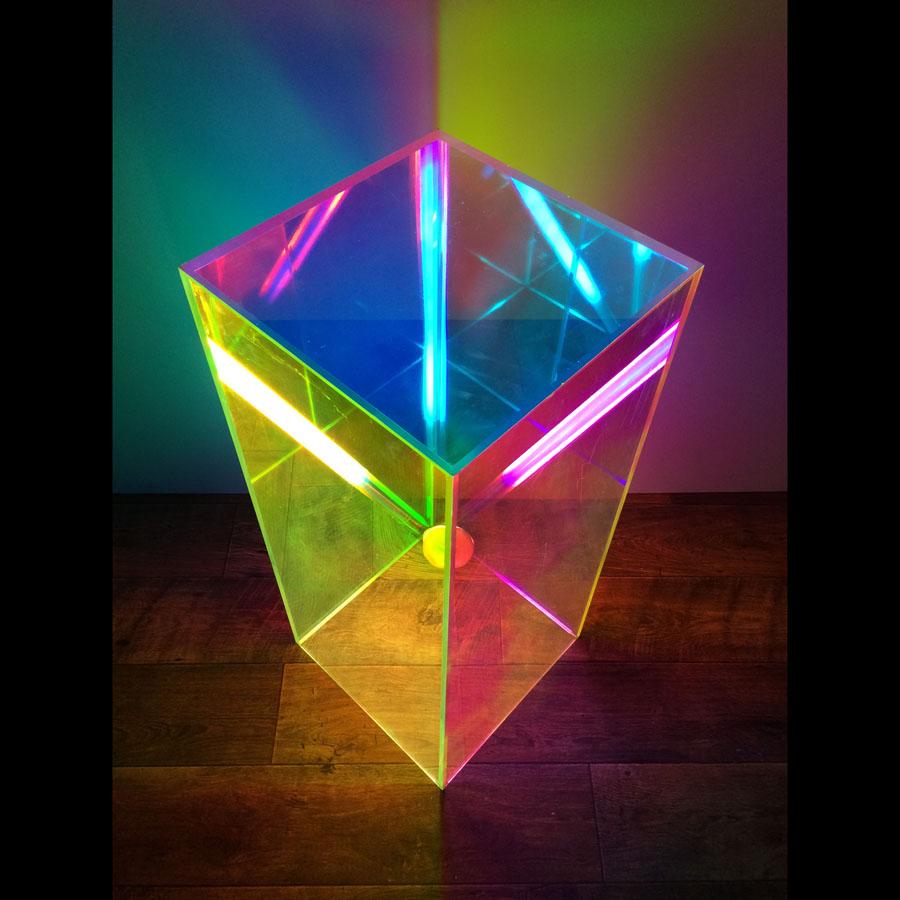 Tilt Originals - Perspex plinth light